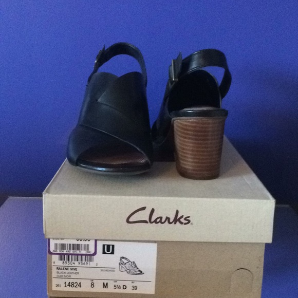 c46c57043 Clarks Shoes - Clarks Ralene Vive Black Shoes